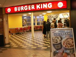 Burger King restaurant.