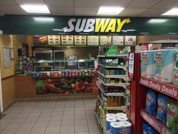 Subway bar.